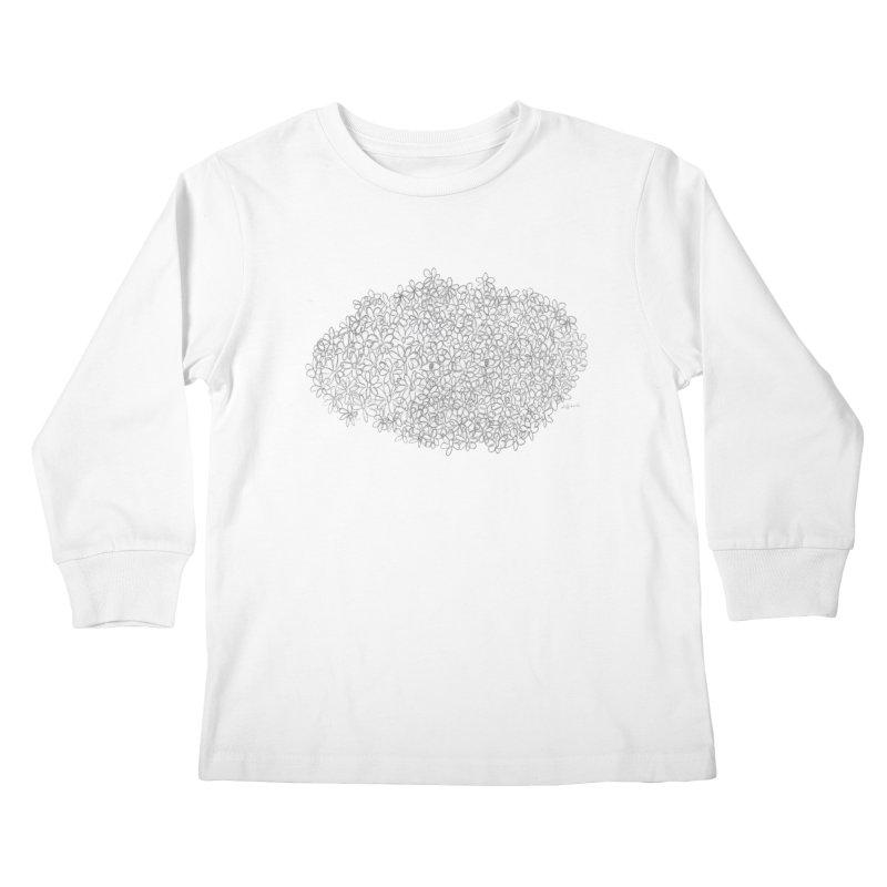 Eyes In A Bush Kids Longsleeve T-Shirt by Steff Bomb's Artist Shop