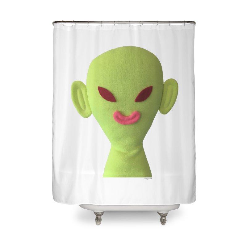 Sweet Boy Home Shower Curtain by Steff Bomb's Artist Shop