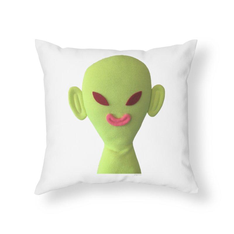 Sweet Boy Home Throw Pillow by Steff Bomb's Artist Shop
