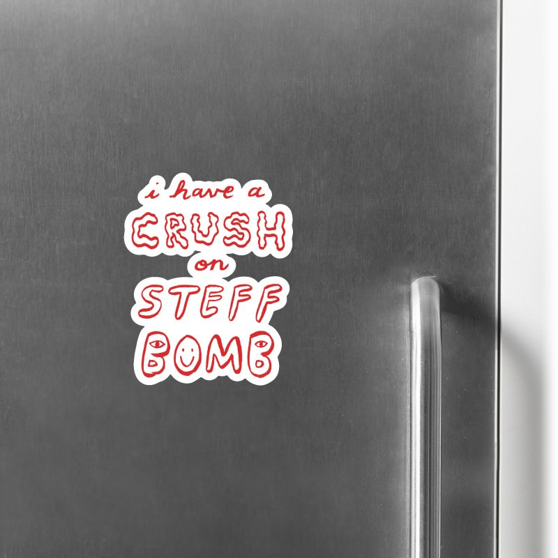 Crush Accessories Magnet by Steff Bomb's Artist Shop