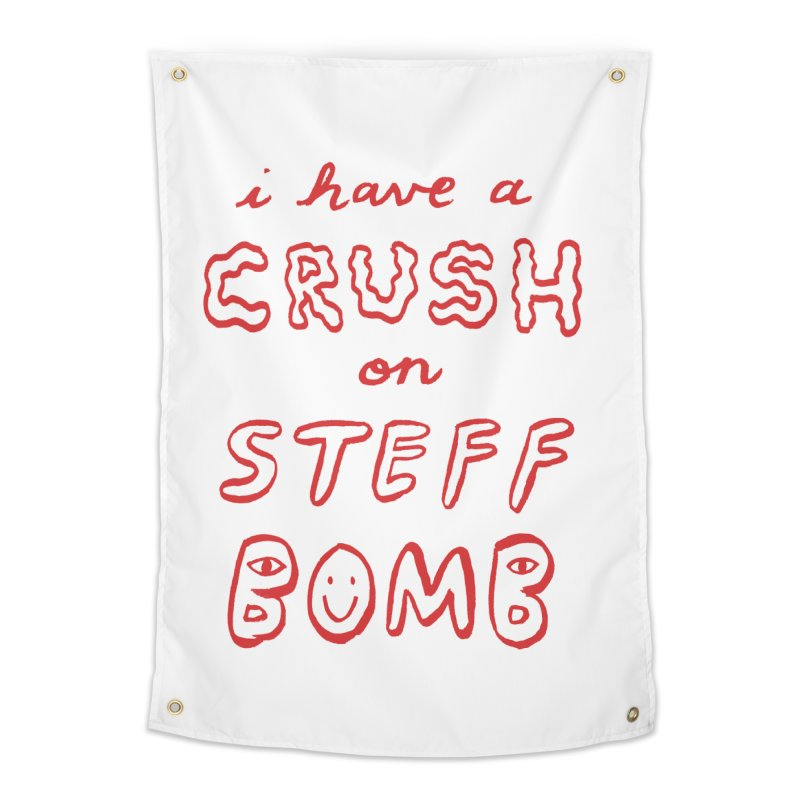 Crush Home Tapestry by Steff Bomb's Artist Shop