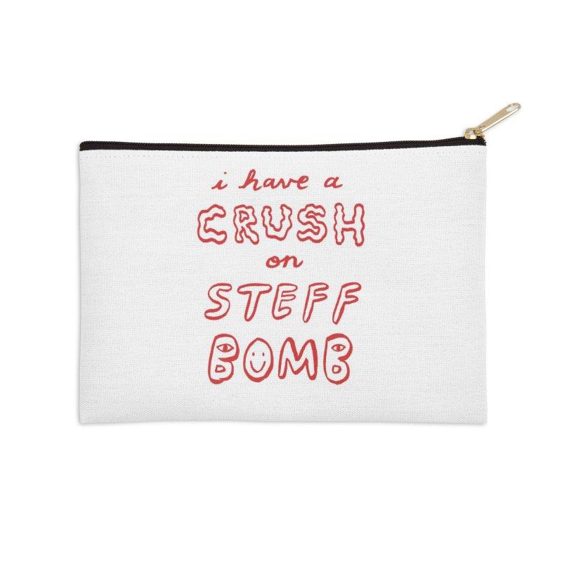 Crush Accessories Zip Pouch by Steff Bomb's Artist Shop