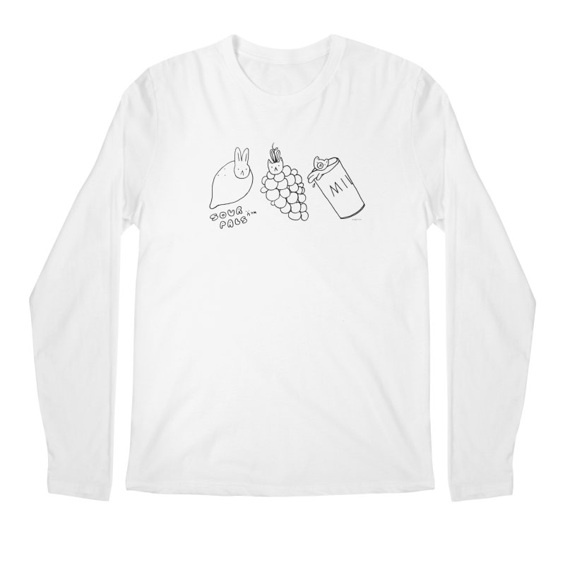 Sour Pals Men's Longsleeve T-Shirt by Steff Bomb's Artist Shop