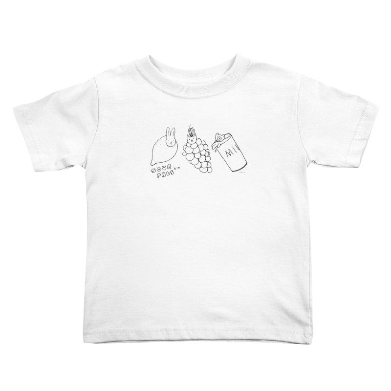 Sour Pals Kids Toddler T-Shirt by Steff Bomb's Artist Shop