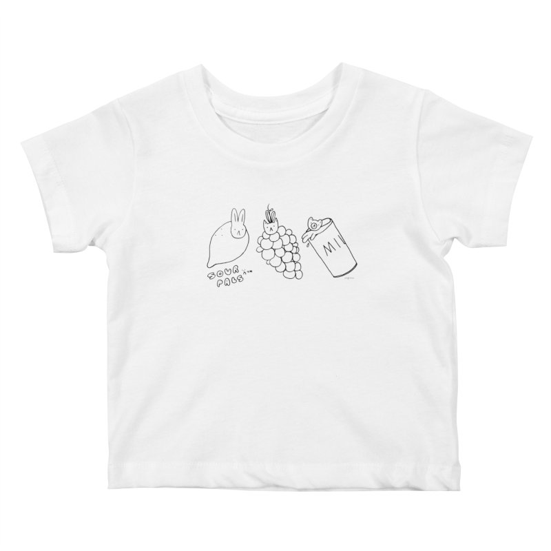 Sour Pals Kids Baby T-Shirt by Steff Bomb's Artist Shop