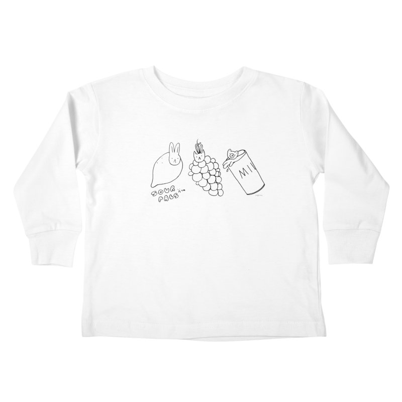 Sour Pals Kids Toddler Longsleeve T-Shirt by Steff Bomb's Artist Shop