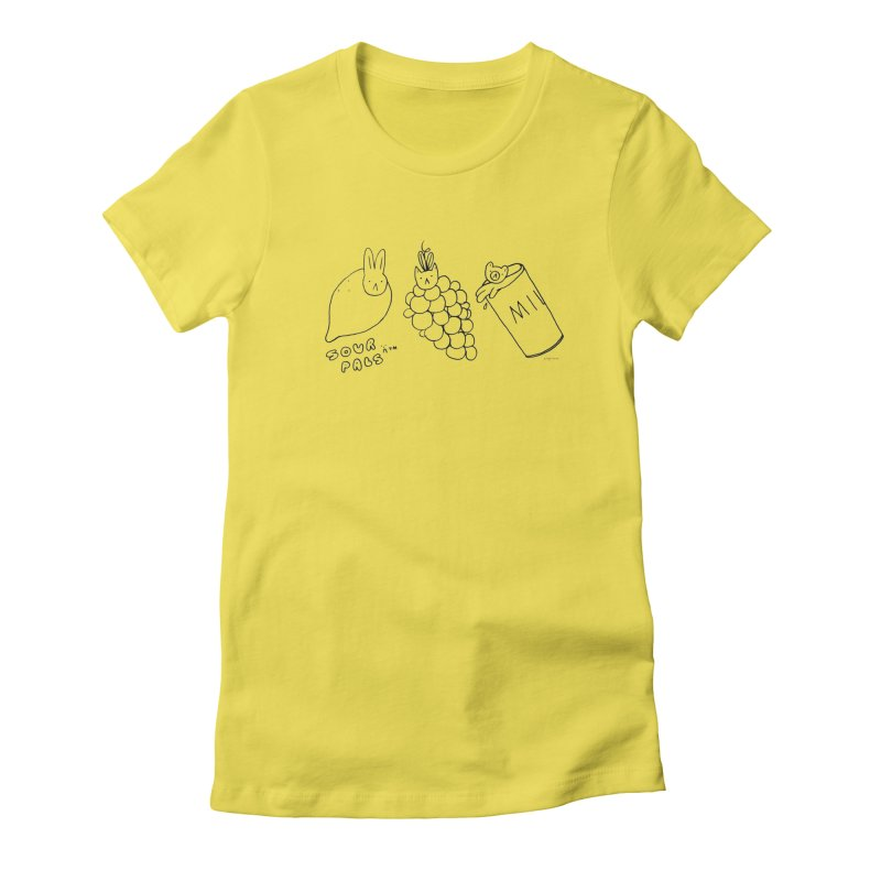 Sour Pals Women's T-Shirt by Steff Bomb's Artist Shop