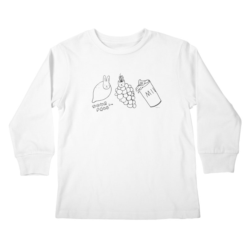 Sour Pals Kids Longsleeve T-Shirt by Steff Bomb's Artist Shop