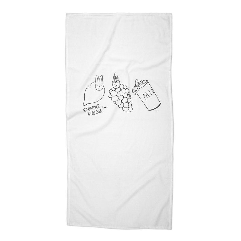 Sour Pals Accessories Beach Towel by Steff Bomb's Artist Shop