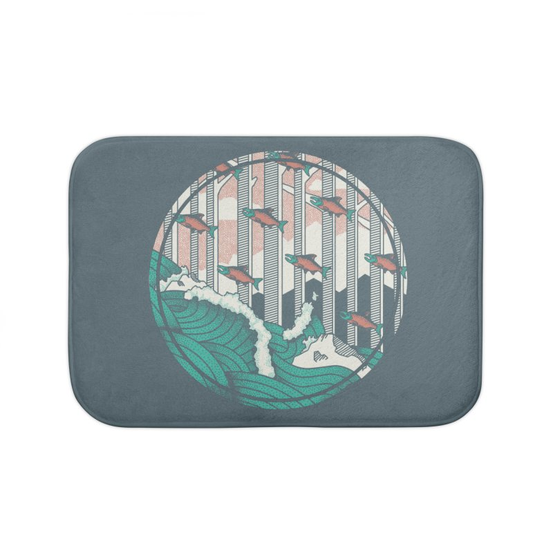Upstream Home Bath Mat by Steger