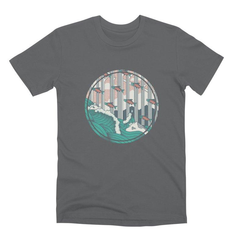 Upstream Men's Premium T-Shirt by Steger