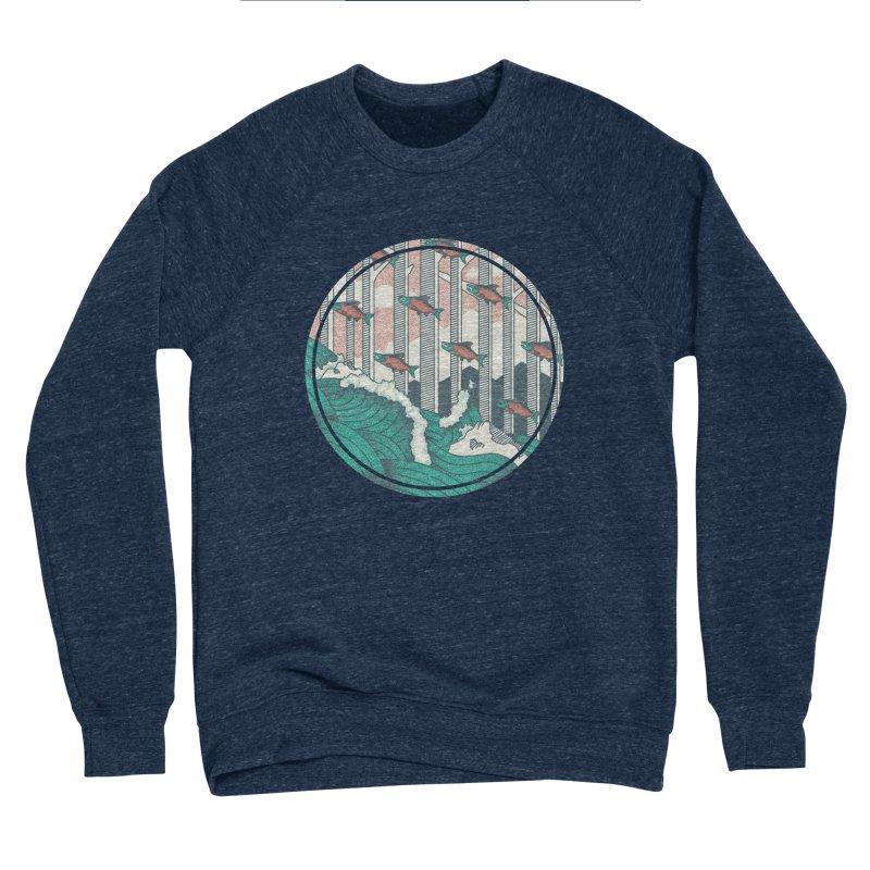 Upstream Men's Sponge Fleece Sweatshirt by Steger