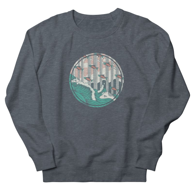 Upstream Men's Sweatshirt by Steger