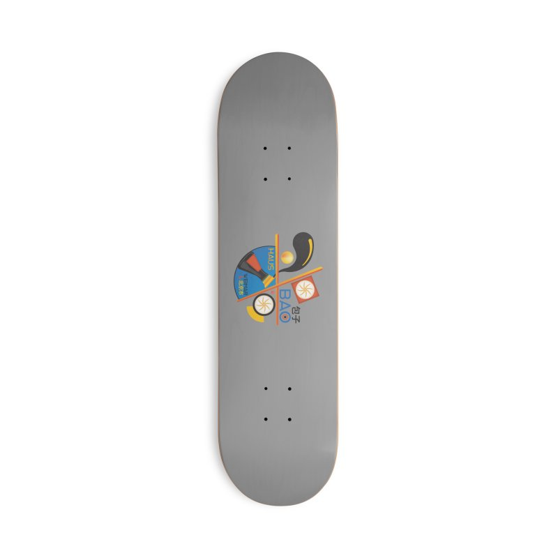 BaoHaus Accessories Deck Only Skateboard by Steger