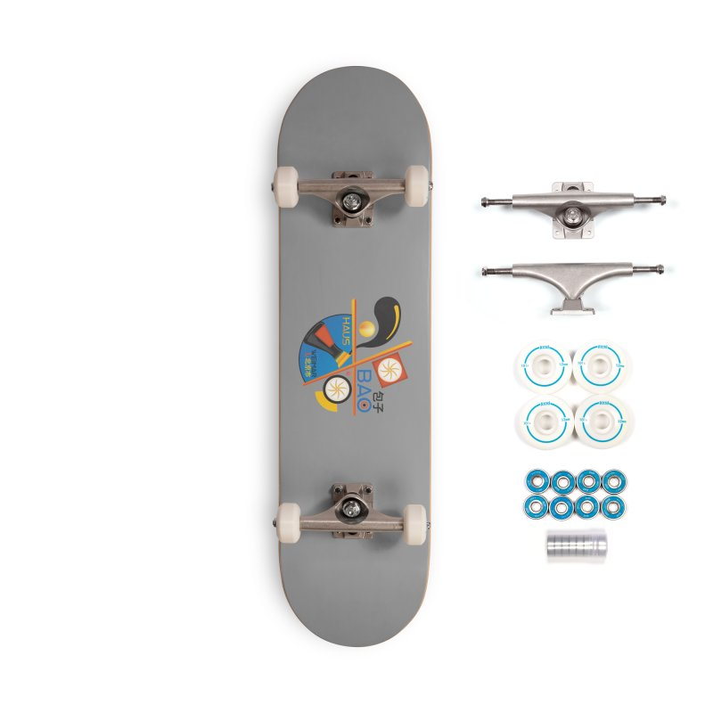 BaoHaus Accessories Complete - Basic Skateboard by Steger