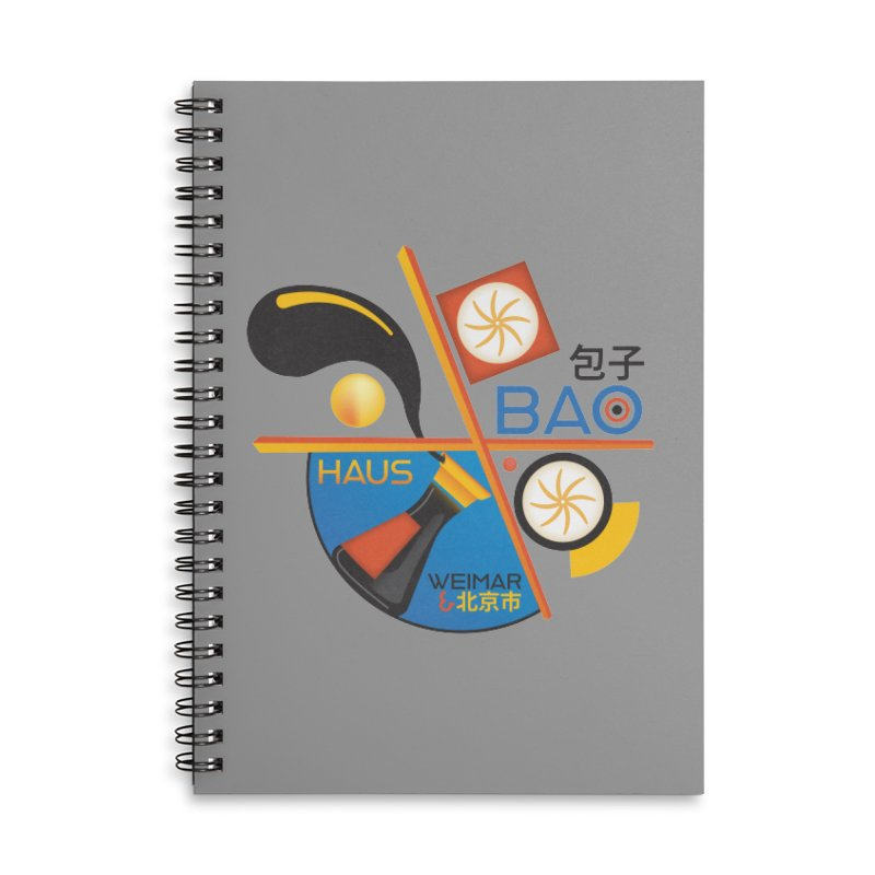 BaoHaus Accessories Lined Spiral Notebook by Steger