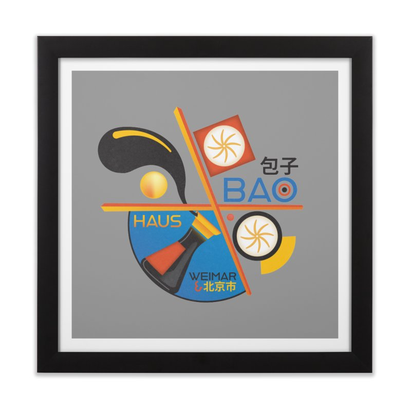 BaoHaus Home Framed Fine Art Print by Steger