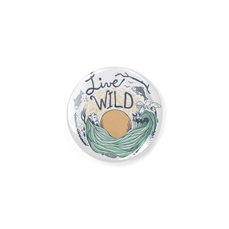 Live Wild Accessories Button by Steger