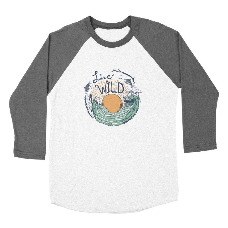 Live Wild Women's Longsleeve T-Shirt by Steger