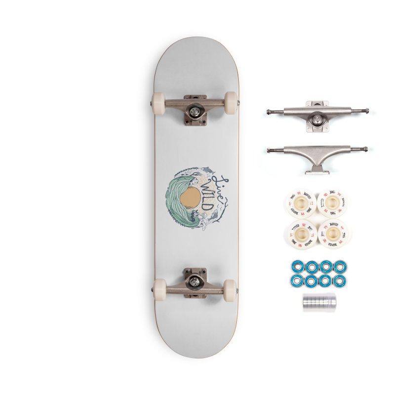 Live Wild Accessories Complete - Premium Skateboard by Steger