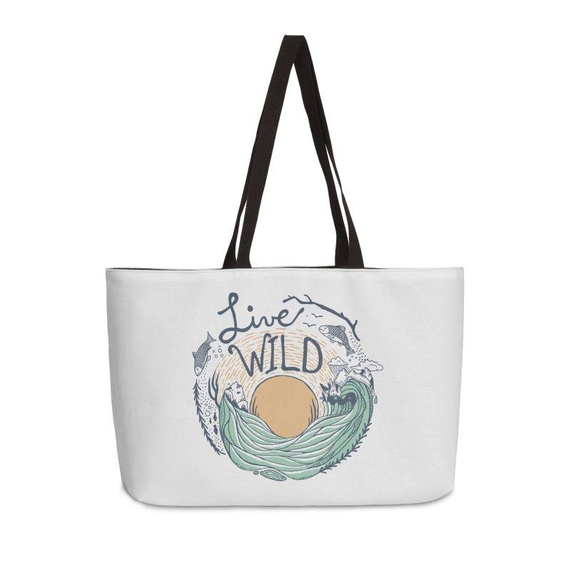 Live Wild Accessories Weekender Bag Bag by Steger