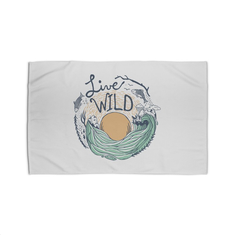 Live Wild Home Rug by Steger