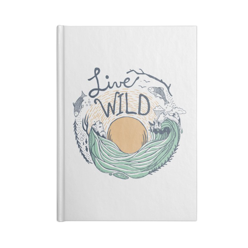 Live Wild Accessories Lined Journal Notebook by Steger