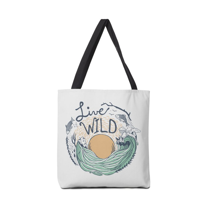 Live Wild Accessories Tote Bag Bag by Steger