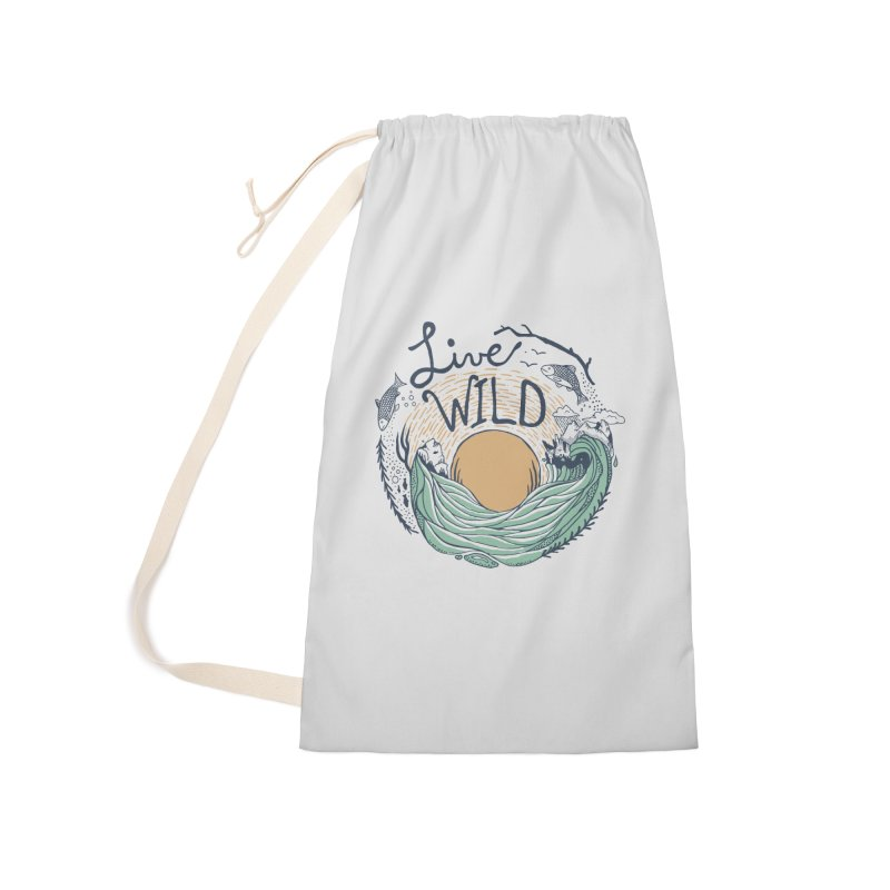 Live Wild Accessories Laundry Bag Bag by Steger