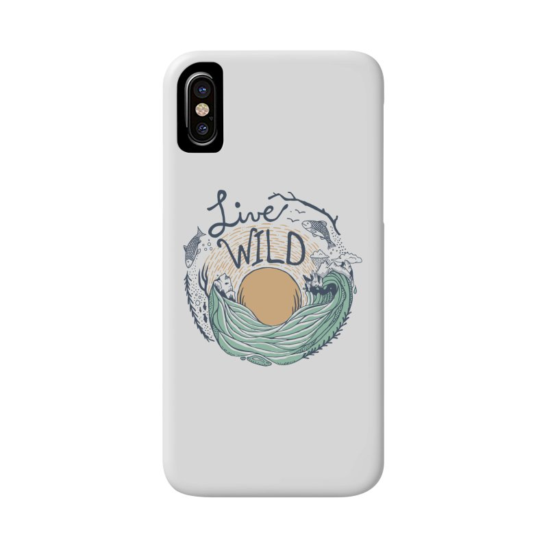 Live Wild Accessories Phone Case by Steger