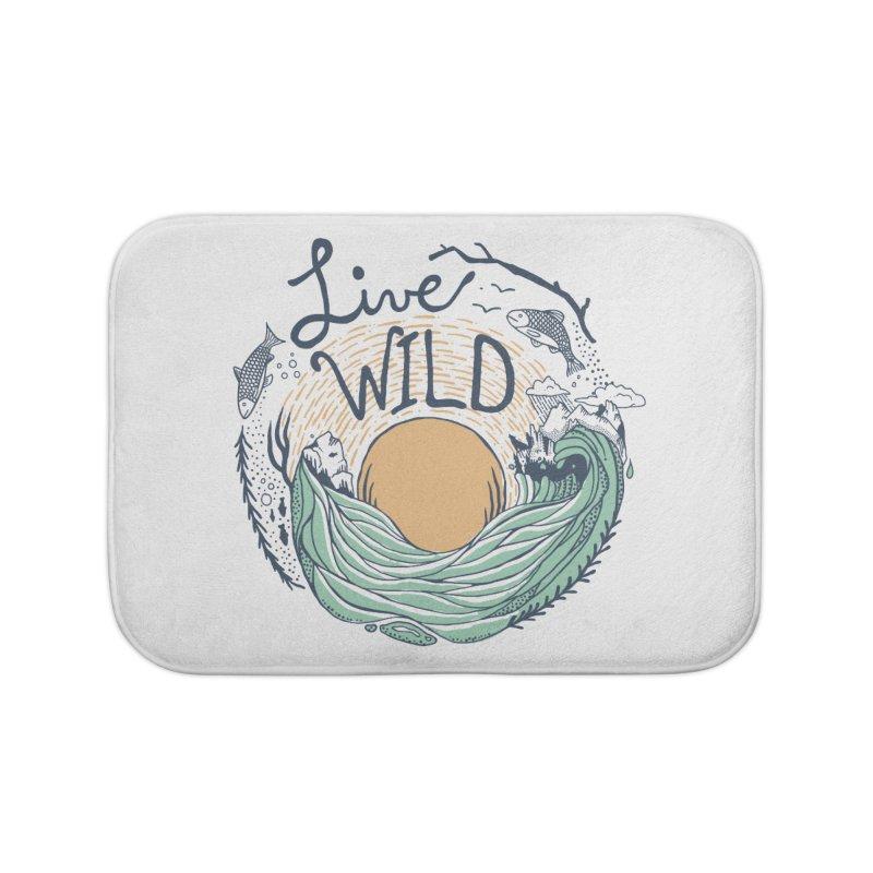 Live Wild Home Bath Mat by Steger