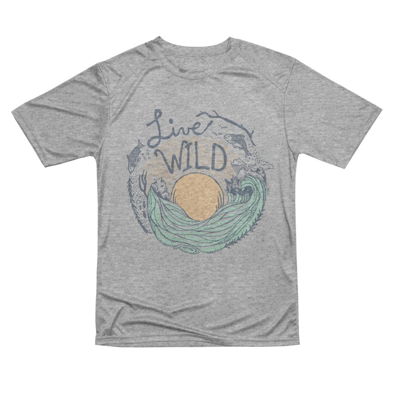 Live Wild Women's Performance Unisex T-Shirt by Steger