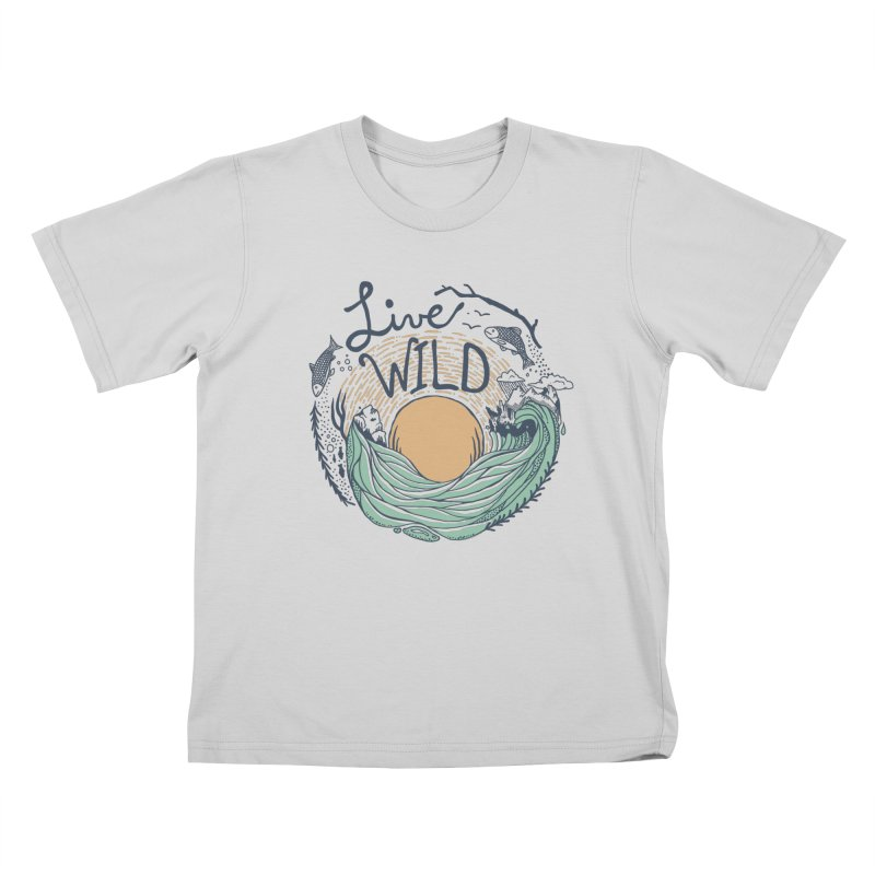 Live Wild Kids T-Shirt by Steger