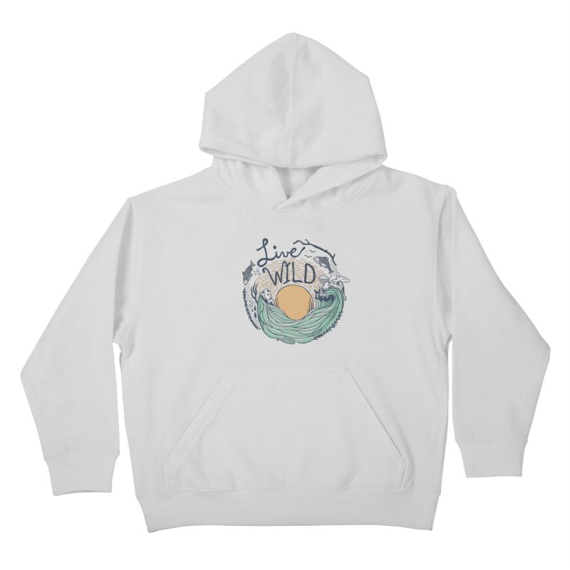 Live Wild Kids Pullover Hoody by Steger