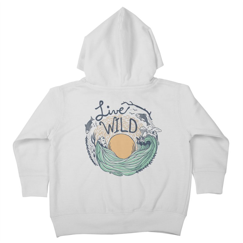 Live Wild Kids Toddler Zip-Up Hoody by Steger