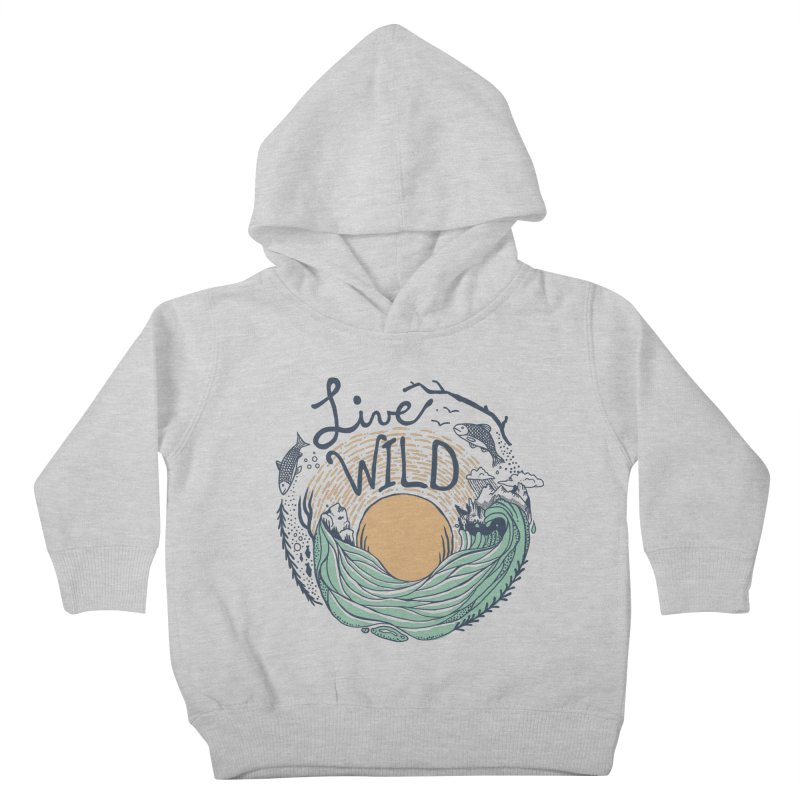 Live Wild Kids Toddler Pullover Hoody by Steger