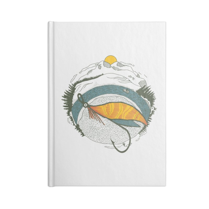 Fly Orb Accessories Lined Journal Notebook by Steger