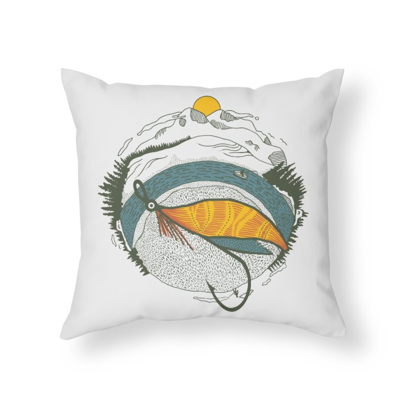 Fly Orb Home Throw Pillow by Steger