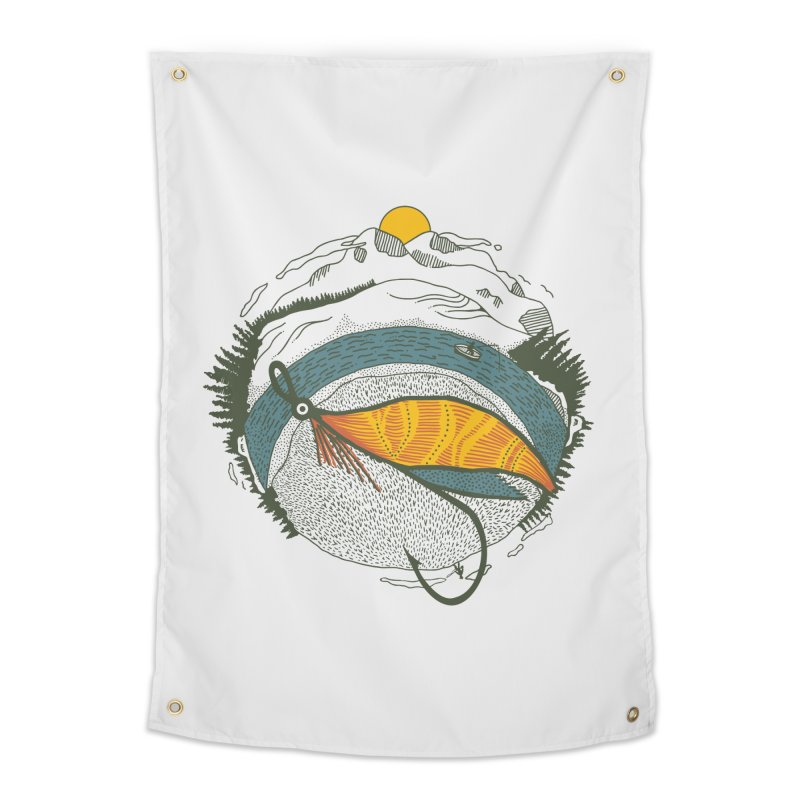 Fly Orb Home Tapestry by Steger