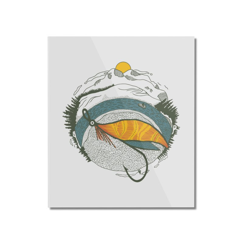 Fly Orb Home Mounted Acrylic Print by Steger
