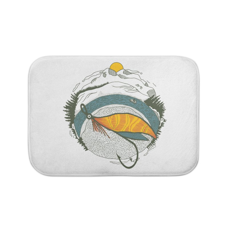 Fly Orb Home Bath Mat by Steger