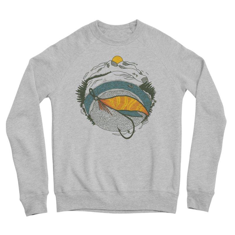 Fly Orb Women's Sponge Fleece Sweatshirt by Steger