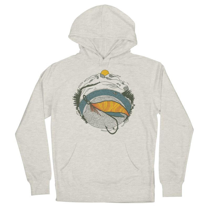 Fly Orb Men's French Terry Pullover Hoody by Steger