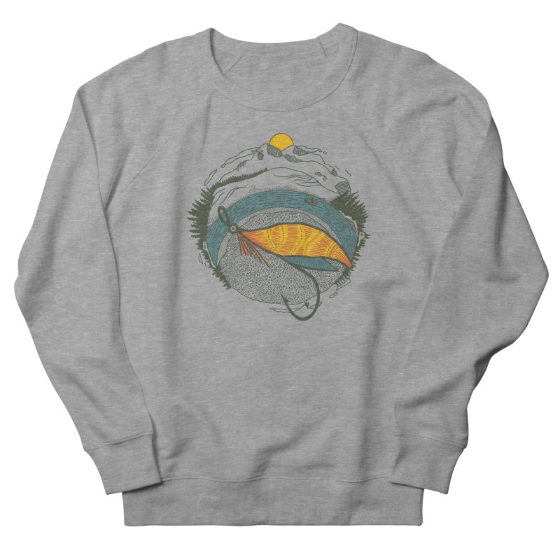 Fly Orb Men's French Terry Sweatshirt by Steger
