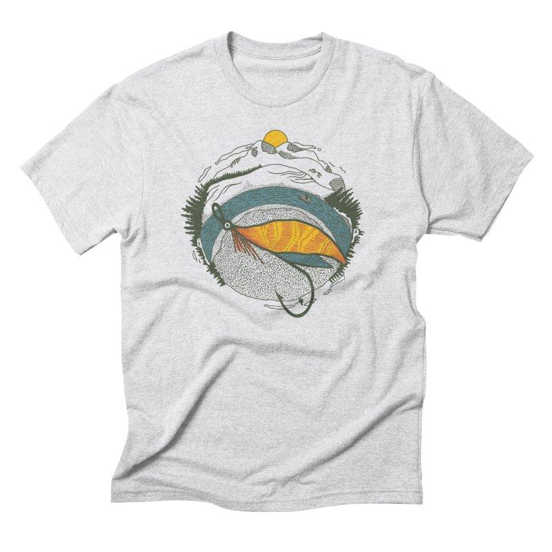 Fly Orb Men's Triblend T-Shirt by Steger