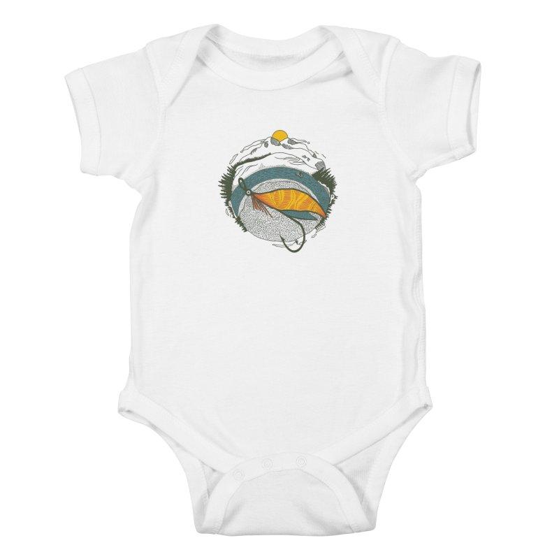 Fly Orb Kids Baby Bodysuit by Steger