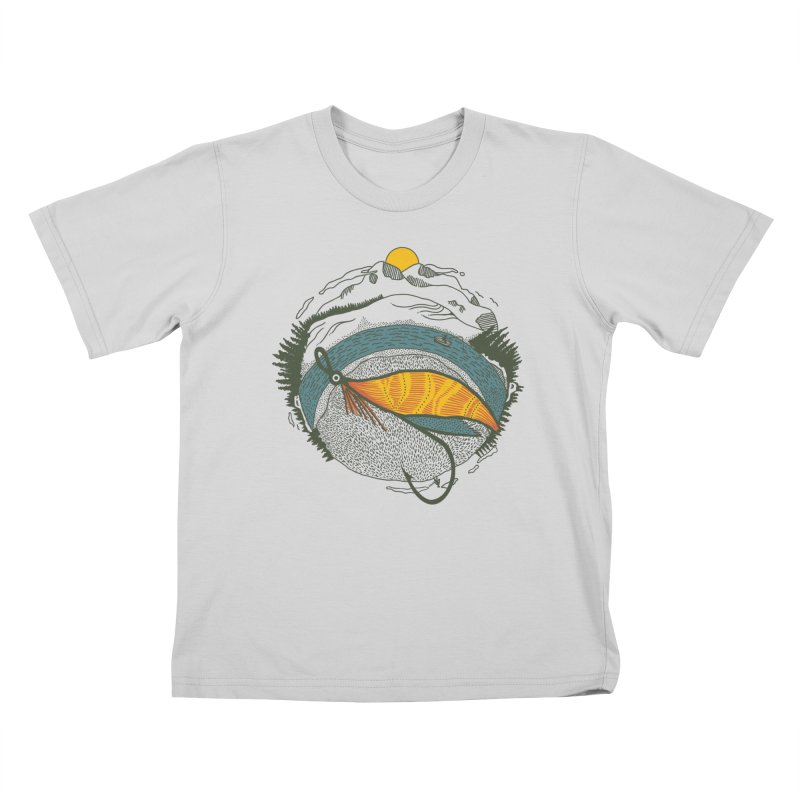 Fly Orb Kids T-Shirt by Steger