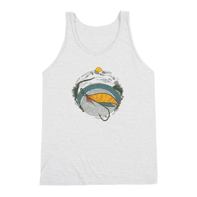 Fly Orb Men's Triblend Tank by Steger