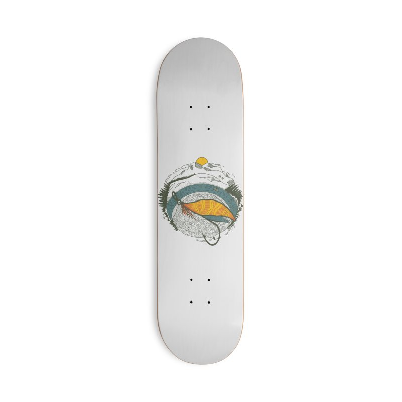 Fly Orb Accessories Deck Only Skateboard by Steger