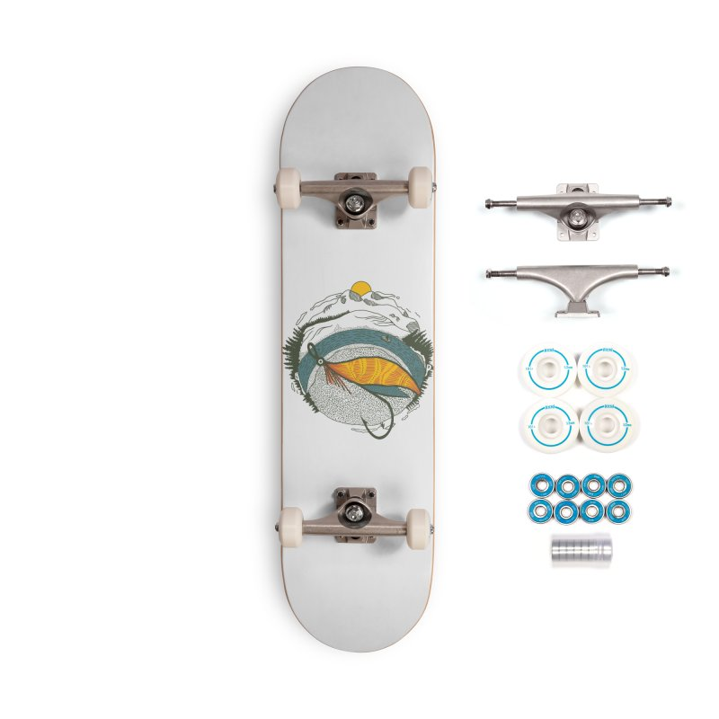 Fly Orb Accessories Complete - Basic Skateboard by Steger